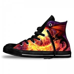 Chaussures Dragon flamme